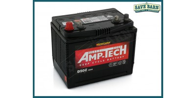 Battery Lead Acid Deep Cycle Battery 12V 80Ah AMP-TECH
