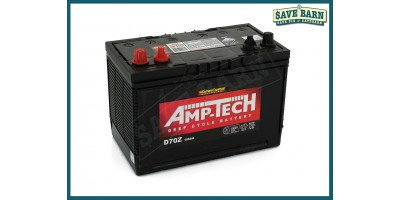 Battery Lead Acid Deep Cycle Battery Starter 12V 105Ah AMP-TECH