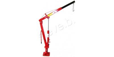 Engine Crane Floor Mounted Hoist 1T