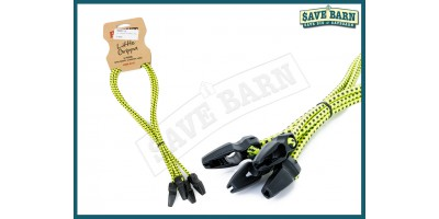 Tie Down Locking Bungee Strap 4 pack PROUT 60cm