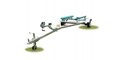 Marine Boat Trailer & Light Board - 14ft Boats