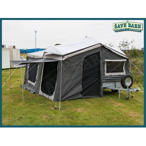RoadCHIEF 6x4 Camper with 7' TENT