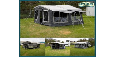 RoadCHIEF 7x4 CAMPER with 9' TENT