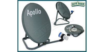 Apollo Portable Satellite Antenna 50cm with Stand