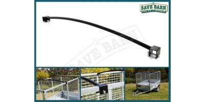 4' Wide Caged Trailer Roof Bar x2 - 1.35m
