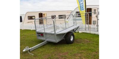 Farm Trailer ATV All Terrain Stock 5x4 Caged