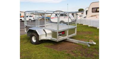Farm Trailer ATV All Terrain Stock 6x4 Caged