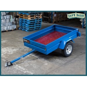 Trailer 6x4 Box Sides Single Axle Tilt & Stand Up