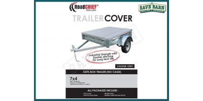 7x4 Trailer Cover - Box Sides 600gsm ROADCHIEF