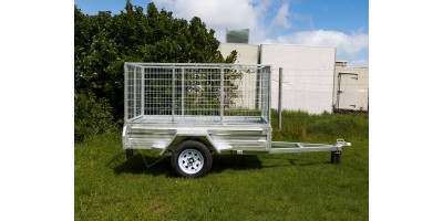 Trailer 8x5 Box Sides Tilting Deck (no cage) ROADCHIEF