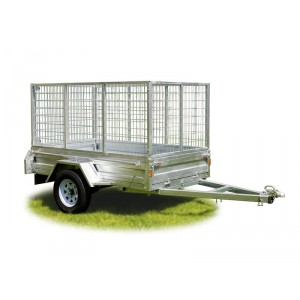Trailer 7x4 Caged Tilting Deck & 900mmH Cage ROADCHIEF