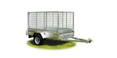 Trailer 8x5 Caged Tilting Deck & 900mmH Cage ROADCHIEF
