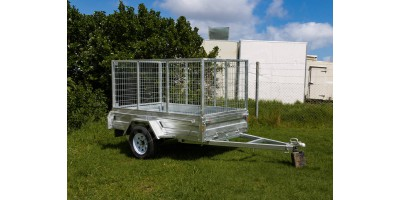 Trailer 8x4 Box Sides Tilting Deck (no cage) ROADCHIEF