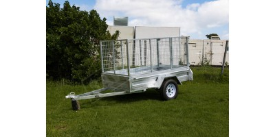 Trailer 7x4 Box Sides Tilting Deck (no cage) ROADCHIEF