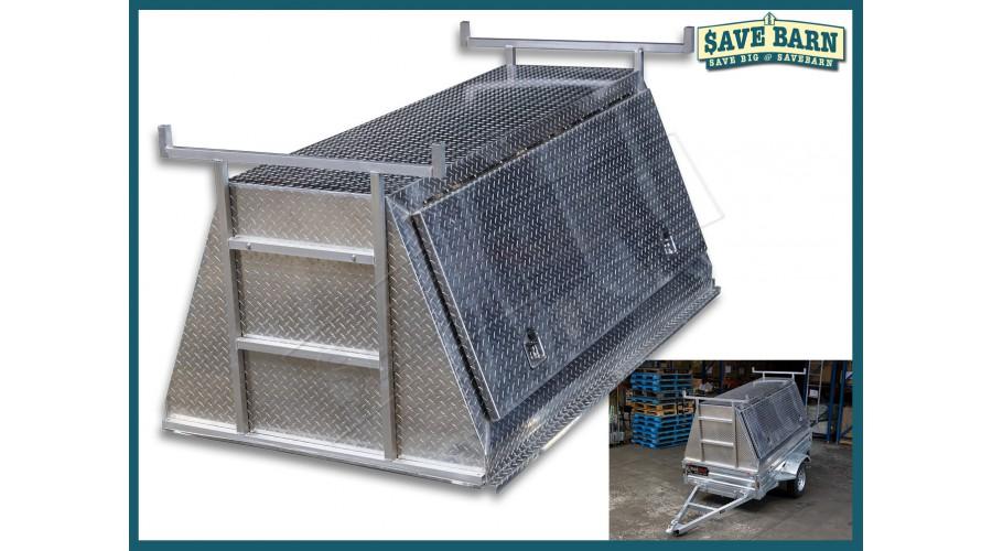 7x4 Aluminium Tradies Top / Builders Canopy hello
