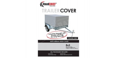 8x5 Trailer Cover 600mm High Cage 600gsm ROADCHIEF