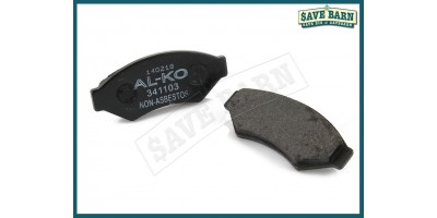 AL-KO Trailer Brake Disc Pads x2
