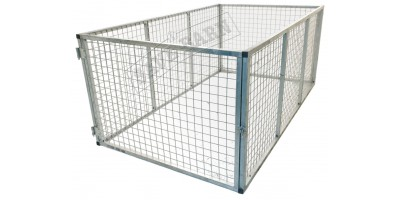 8x4 Trailer Cage RoadChief Cage with Swing Door