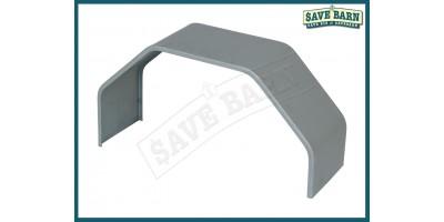 Trailer Single Axle Mudguard Zintec Steel