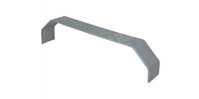 Trailer Tandem Axle Mudguard Zintec Steel x2