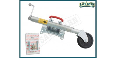 Swivel Type Trailer Jockey Wheel & 'U' Bolt Kit