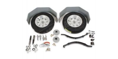 Trailer Kit Single Axle 1200kg Set