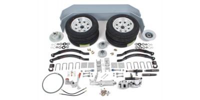Trailer Kit Tandem Axle 2400kg Set - Braked