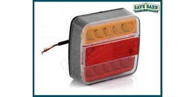 Trailer Light LED Rear Amber/Red - Single Light