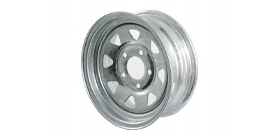 Galvanised Trailer Wheel Rim 13""