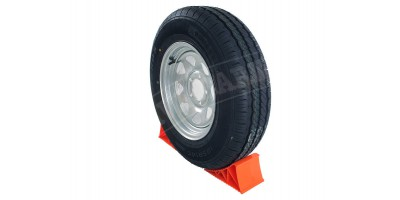 "Trailer Wheels Galv. Tubeless Radial Tyres 14"" x2"