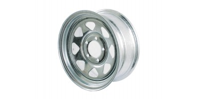 Galvanised Trailer Wheel Rim 14""