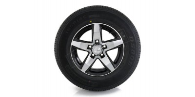 "2x 14"" ADVANTI Mag Trailer Wheel + Doublestar Tyre"