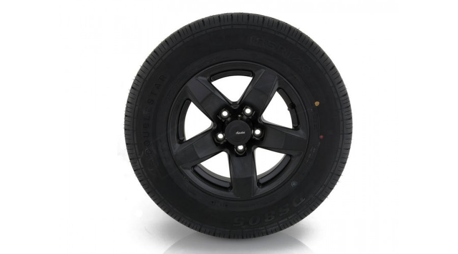 "2x 14"" ADVANTI Mag Trailer Wheel + Doublestar Tyre hello"