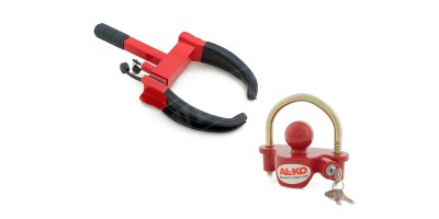 Anti-Theft Wheel Clamp Lock & Coupling Lock