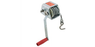 Marine Trailer Cable Winch 500kg 3:1 1:1
