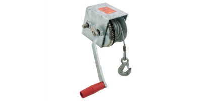 Marine Trailer Cable Winch 700kg 5:1 1:1