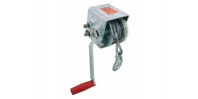 Boat Trailer Cable Winch 1000kg 10:1 5:1 1:1 7.5m