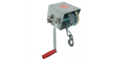 Boat Trailer Cable Winch 1200kg 15:1 5:1 1:1 7.5m